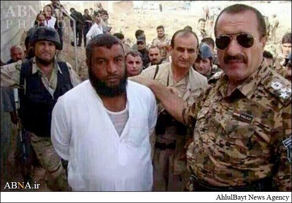 ذبح کننده داعشی دستگیر شد +عکس