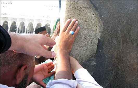 عکس/ محل نزول جبرئیل در مسجدالحرام