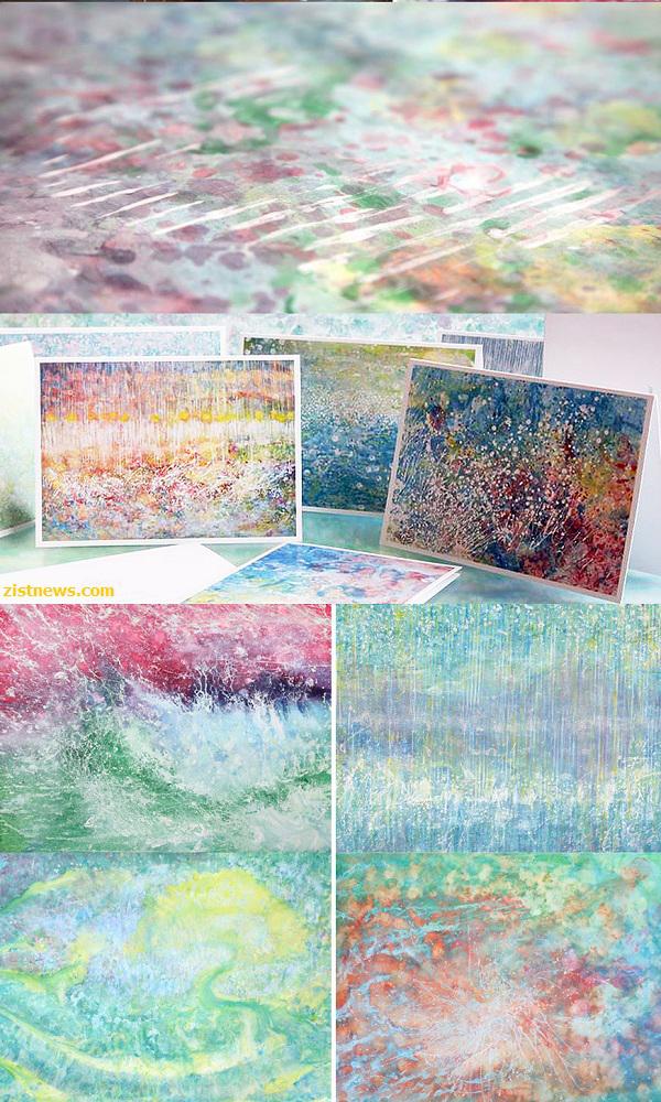 تصاویر / هنرمندی کودک مبتلا به اوتیسم