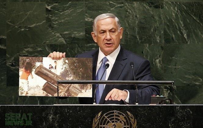 عکسی که نتانیاهو درسازمانملل نشان داد