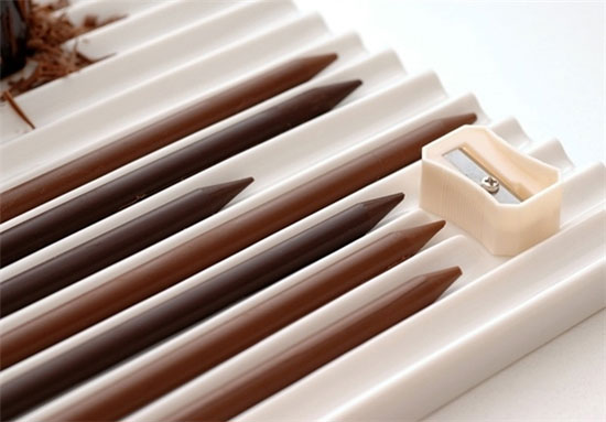 این مدادها را تراش کنید و بخورید! (+عکس)