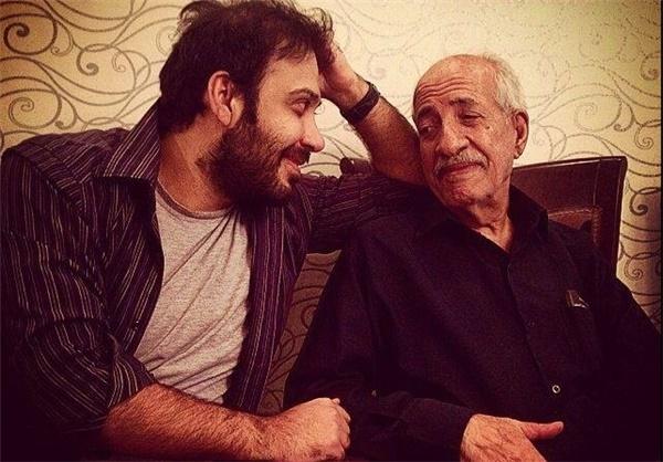 عکس/ محسن چاوشی در کنار پدرش