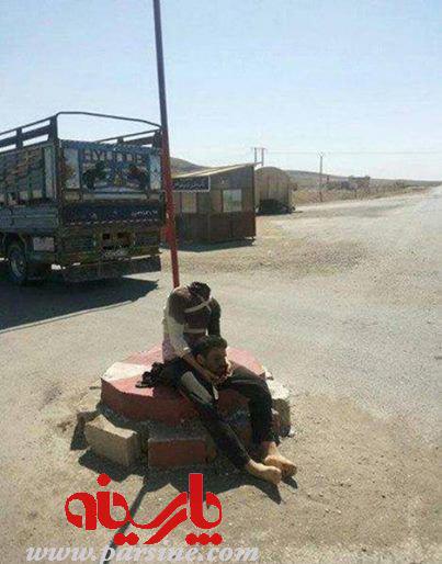 عکس/ خوی حیوانی داعش را ببینید!