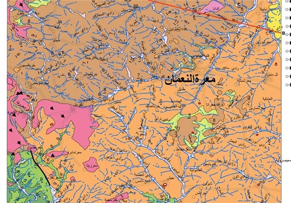 ادامه پیشروی النصره در ریف ادلب+نقشه