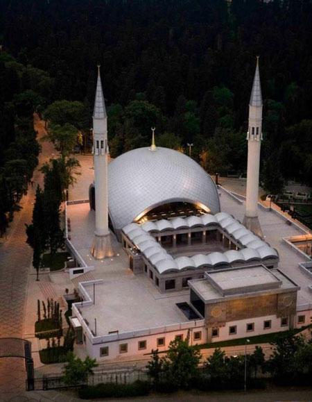مسجد زیبایی که یک زن طراحی کرد+ تصاویر