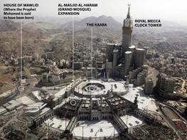 جایگزینی کاخ سلطنی در مکان تولد پیامبر(ص)! +عکس