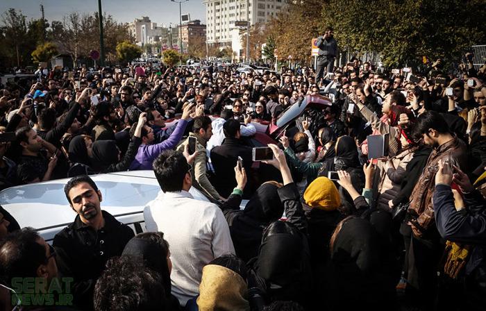 عکس/ اتفاق اعصابخردکن در وفات پاشایی