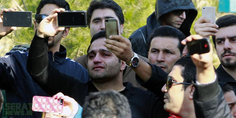 یک انتقاد در تجمع هواداران پاشایی +تصاویر