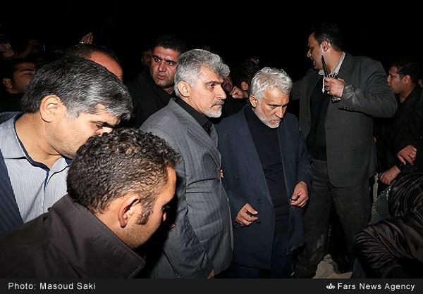 تصاویر/ دفن شبانه پیکر زنده یاد پاشایی