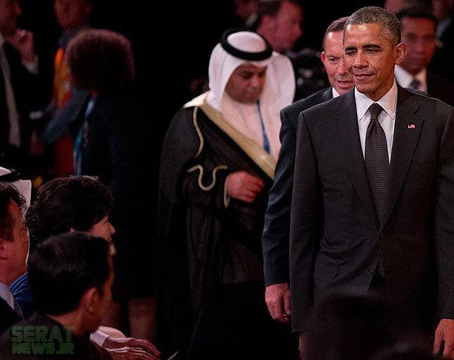 عکس/ چشمکزدن اوباما