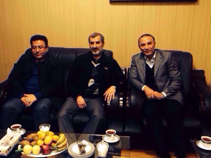 تصویر منتشر نشده ازمایلی کهن در زندان