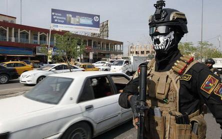 عکس / چهره عجیب نیروی ویژه عراقی