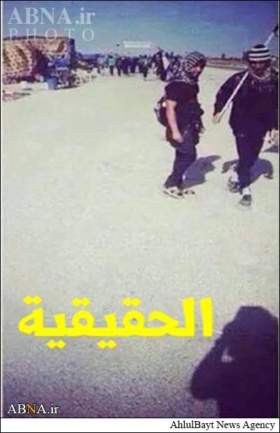 فتنه داعش در پیادهروی اربعین + تصاویر