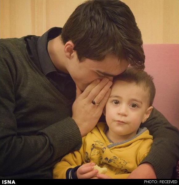 عکس/ مذاکره فرزندان یادگار امام