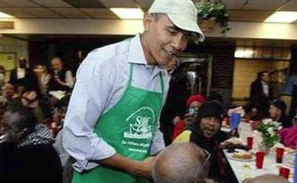 رئیس جمهوری که با پیشخدمت اشتباه گرفته شد!؟ +عکس