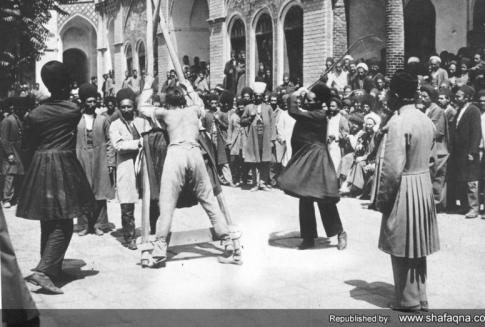 عکس/ مجازات در سده اخیر تهران
