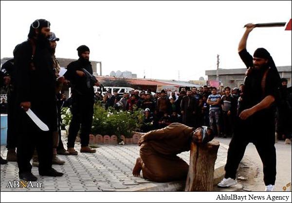 اعدامیکعراقیتوسطجلادداعش+تصاویر