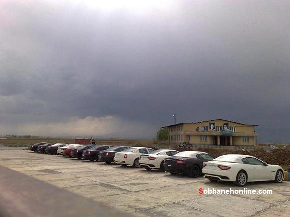 عکس/ پارکینگ مازراتی ها در گمرک