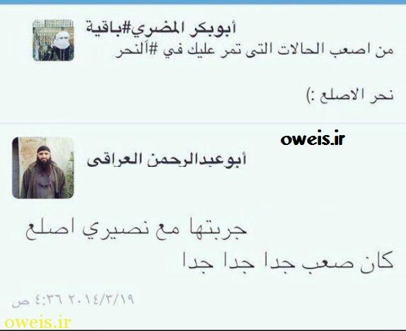 داعش: سربریدن کچلها سخت است! +عکس