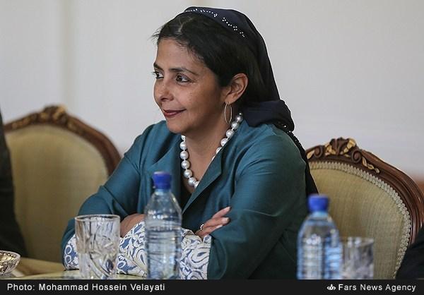 عکس/ حجاب وزیر ونزوئلا در ایران
