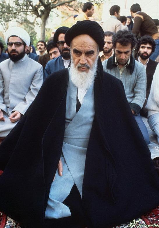 داستان عکس روحانی پشتسر امام(ره)