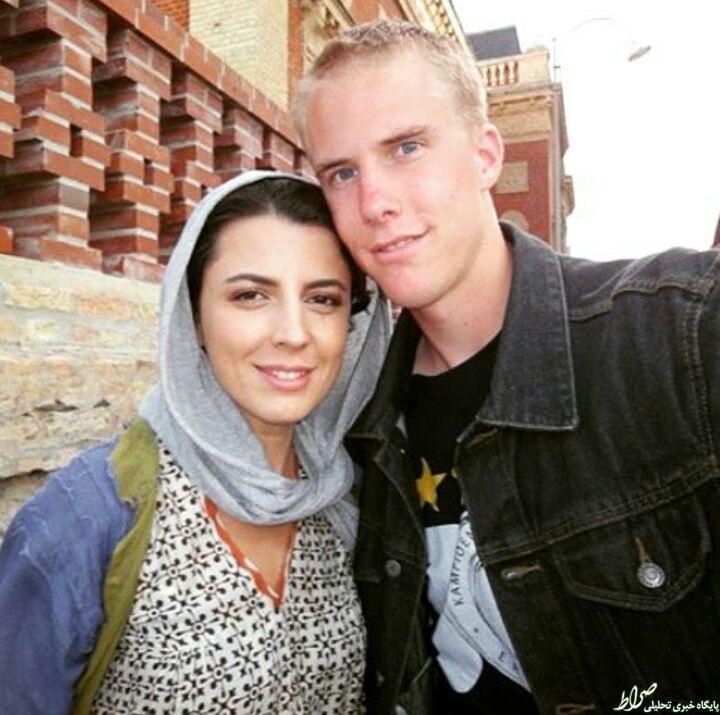 عکس/ لیلا حاتمی و پسرخاله هلندی اش