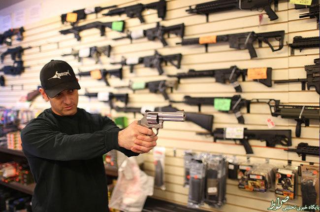 ع چاق ایرانی تصاویر/ فروش سلاح در آمریکا