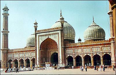بزرگترین مسجد جهان در هند +عکس