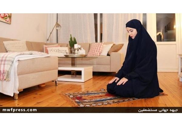 جنجال مسلمان شدن دختر نروژی+تصاویر
