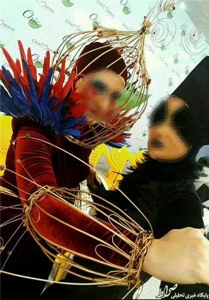 فشنشو در دانشگاه الزهرا (س)! +تصاویر