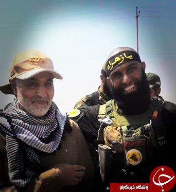 عکس/ سلفی ابوعزرائیل با سردارسلیمانی