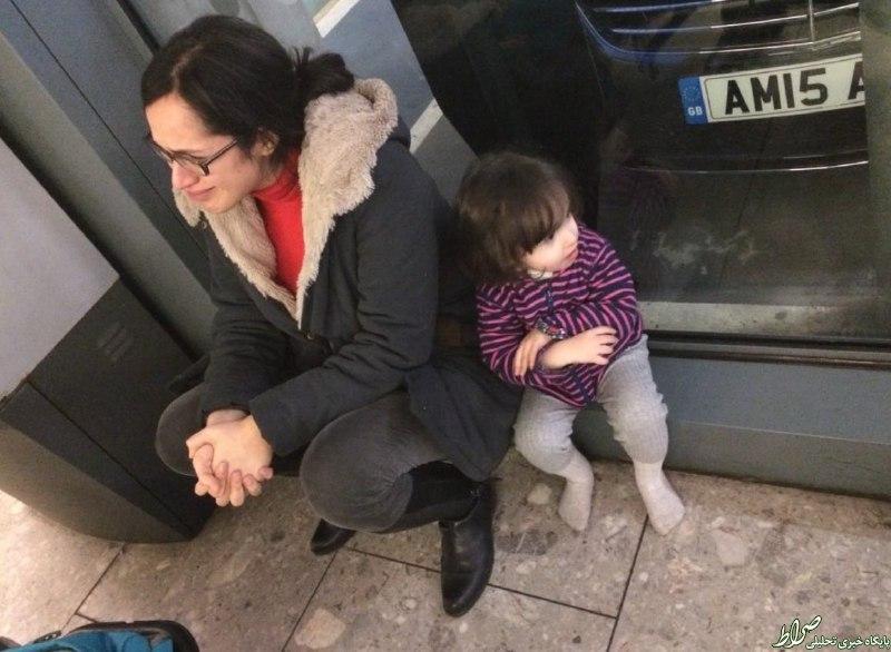 اشک خبرنگار BBC فارسی درآمد +عکس