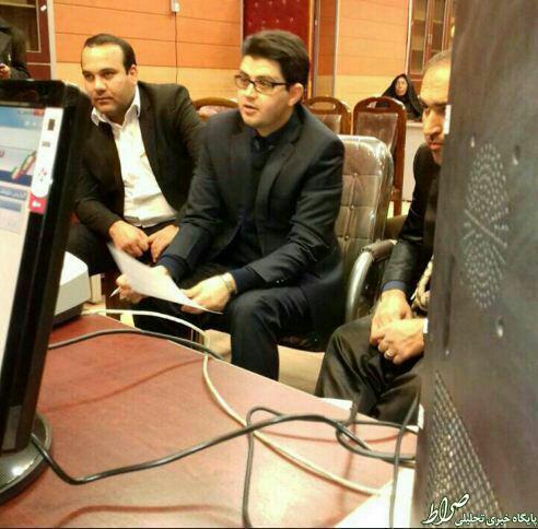 عکس/ ثبتنام برادرزاده حاجقاسم درانتخابات