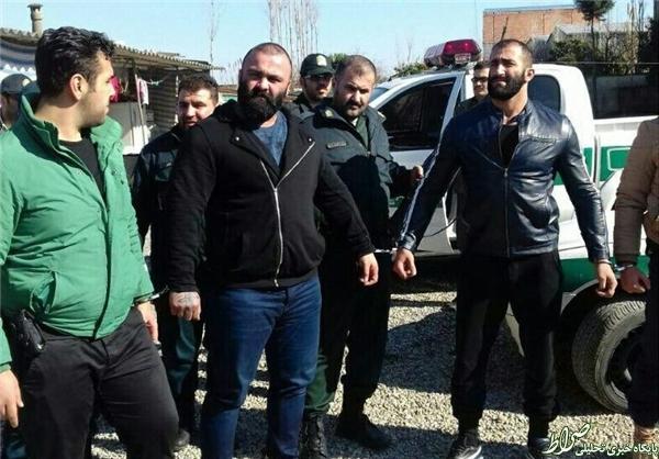 عکس/ گرداندن شاه مازندران در محل جرم