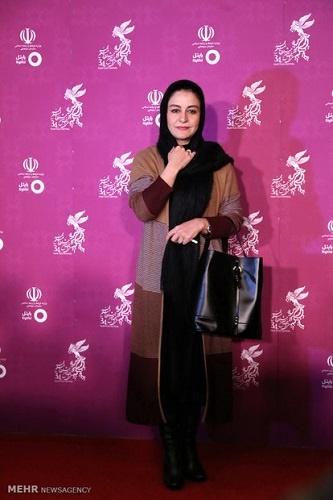 عکس/ مریلا زارعی در فرش قرمز جشنواره