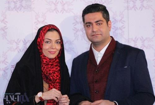 عکس/ آزاده نامداری و همسرش روی فرش قرمز