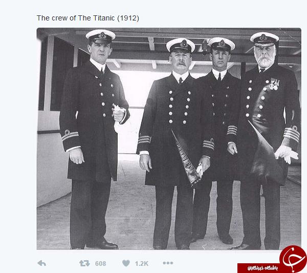 عکس/ خدمه کشتی تایتانیک
