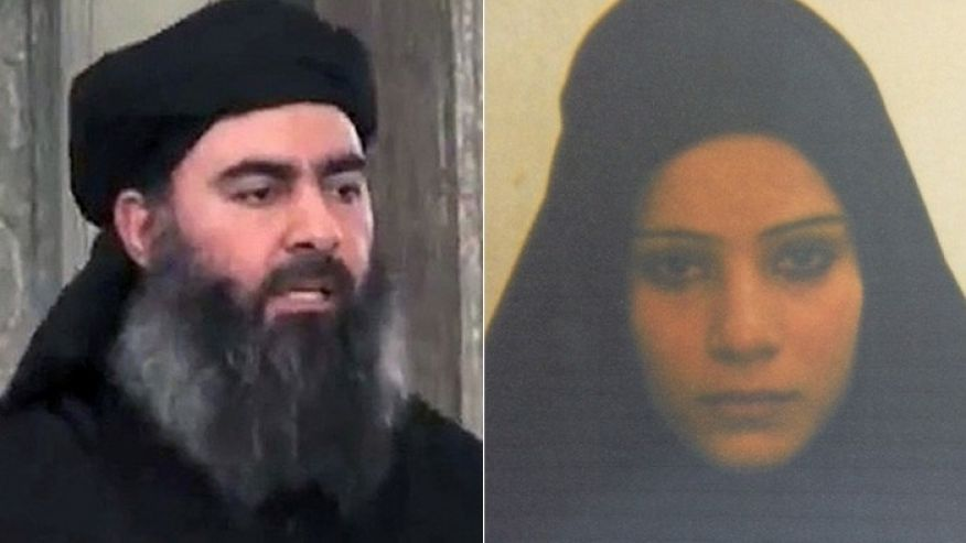 خواهرزن البغدادی در زندان +عکس