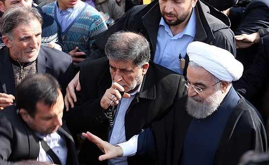 محافظ روحانی در فیلم حاتمیکیا +تصاویر