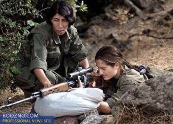 یک ارتش به دنبال این زن +عکس