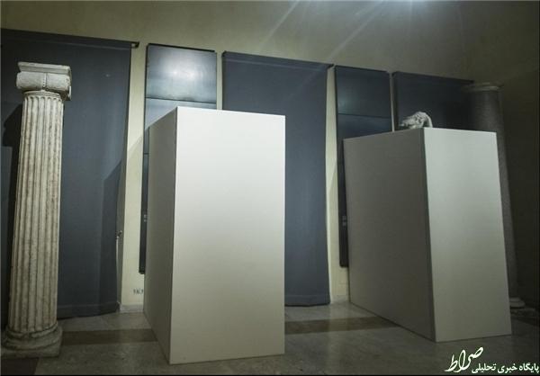پوشاندن مجسمههای عریان موزه «رم» به احترام روحانی +عکس