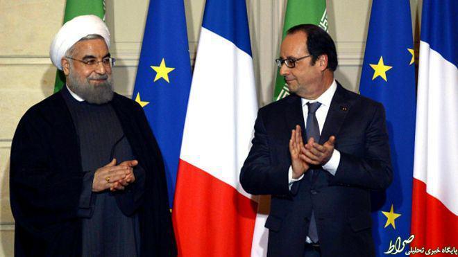 فراسه پرچم ایران را محو کرد +عکس