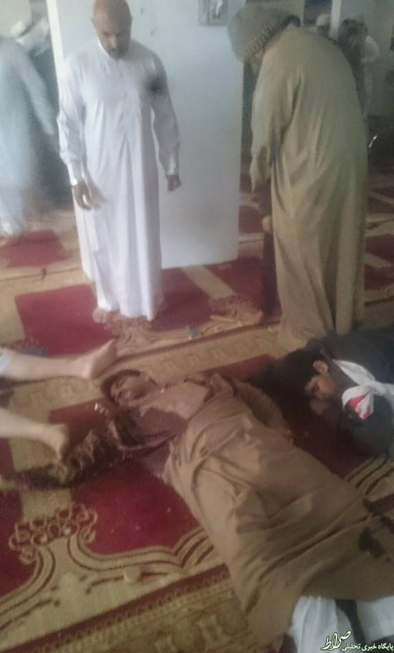 حمله تروریستی به مسجدی در شهر شیعهنشین عربستان +عکس