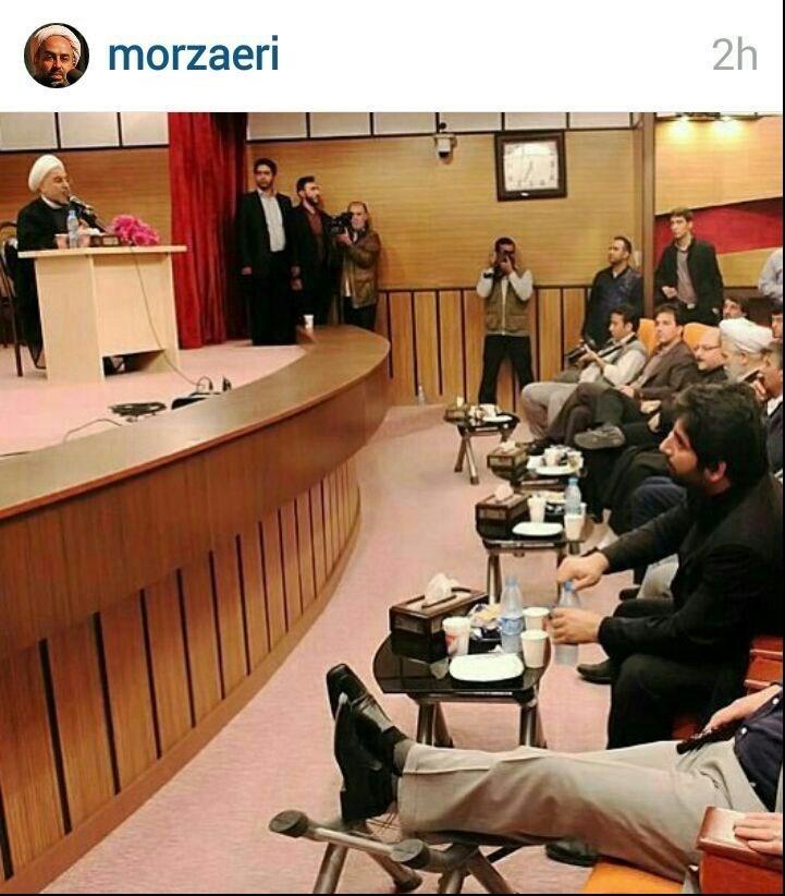 روحانی باید توی گوش برادرش بزند!/ لنگ دراز و رفتار شاهانه مال حکومت طاغوت بود