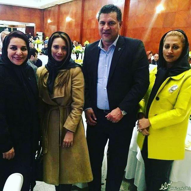 همسر علی دایی خانواده علی دایی بیوگرافی مونا فرخ آذری بیوگرافی دنا فرخ آذری