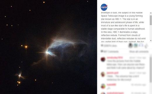 کشف الماسی در فضا + عکس