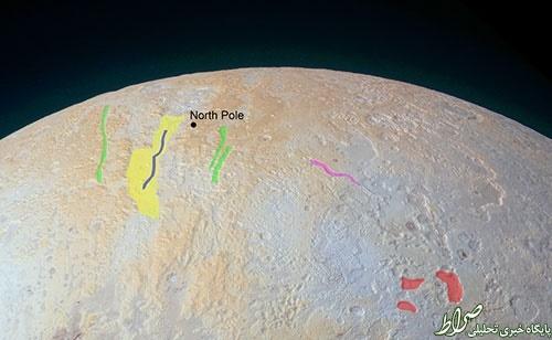 عکس خارقالعاده از قطب شمال پلوتو