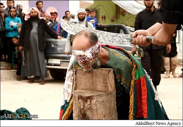 مجازات داعش برای 2پیرمرد جادوگر+تصاویر