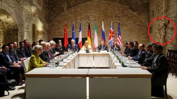 عکسی جنجالی از مذاکرات هستهای وین