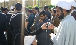 تجمع در اراک به دنبال معرفی استاندار منصوب به فتنه +تصاویر
